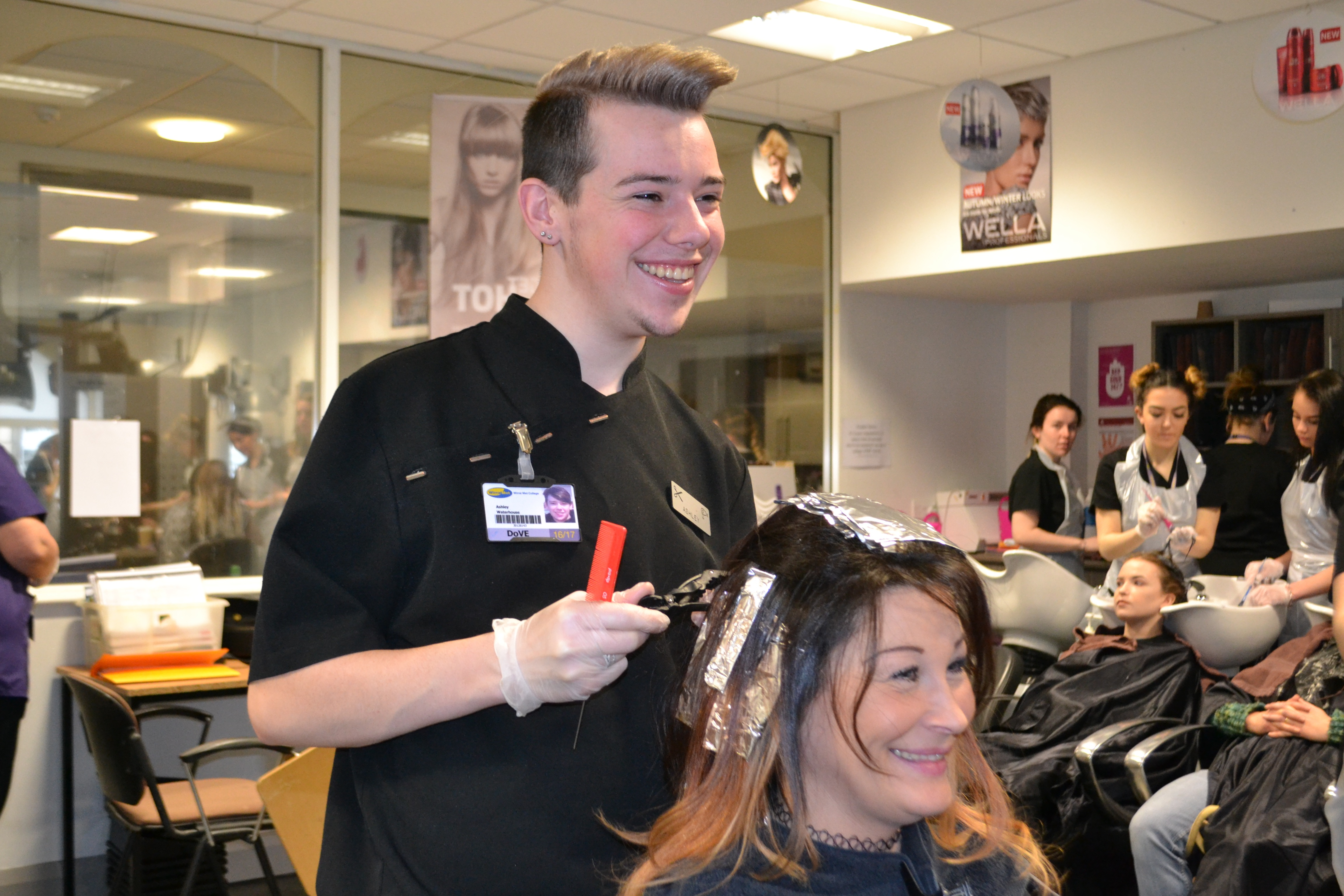 hairdressing, wirral met, salon, conway park,