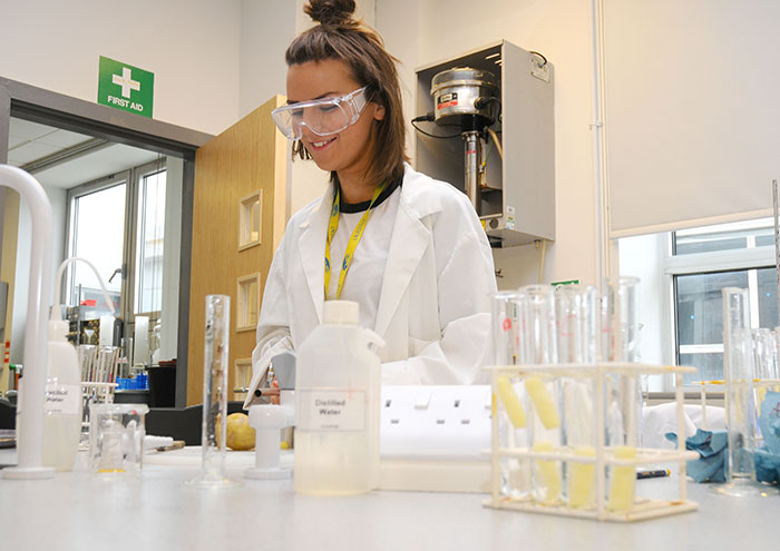 chemistry science STEM apprenticeships wirral met