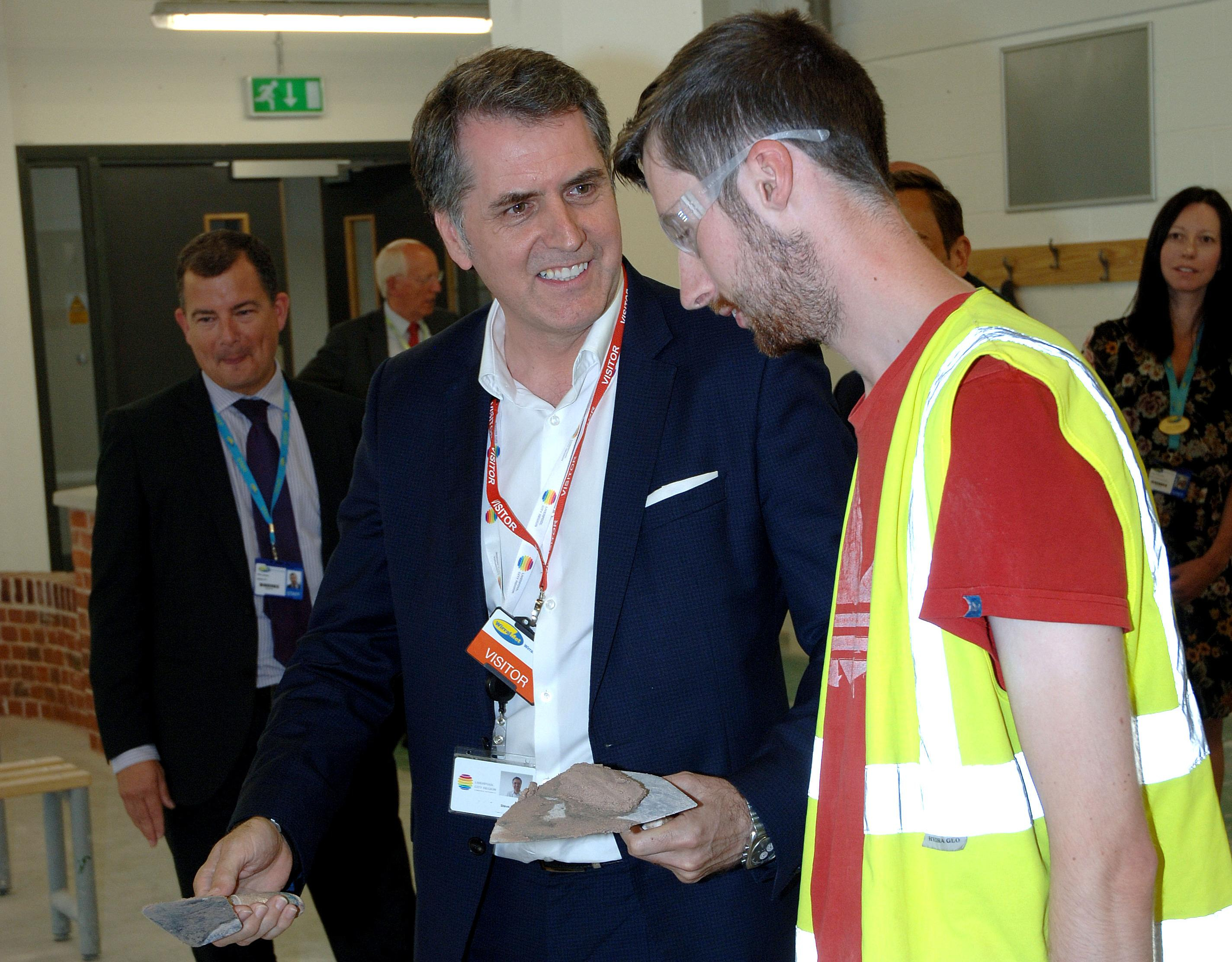Metro Mayor, Wirral Met College, Construction, courses, available, Wirral Waters,