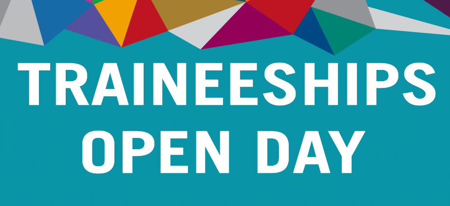 Traineeships Open Day Poster
