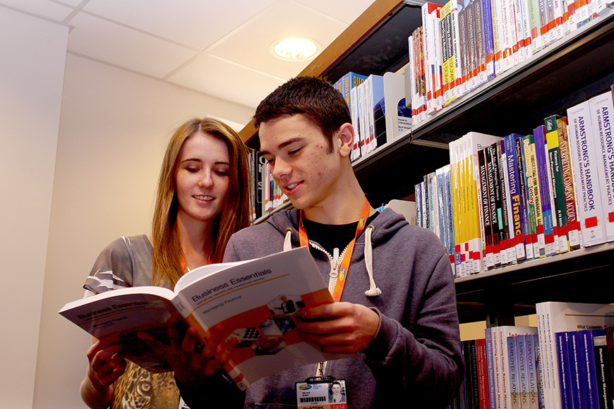 Wirral Met College has a dedicated learning resource centre.