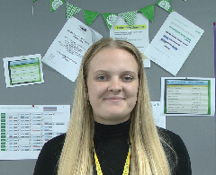 Accounting and Professional Studies Full Time Case Study Sophie Keenan Smiling In Classroom