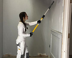 Construction And The Built Environment Case Study Deanna Robinson Painting A Wall