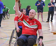 Computing And IT CPD Case Study Stuart Williams Playing Wheelchair Basketball