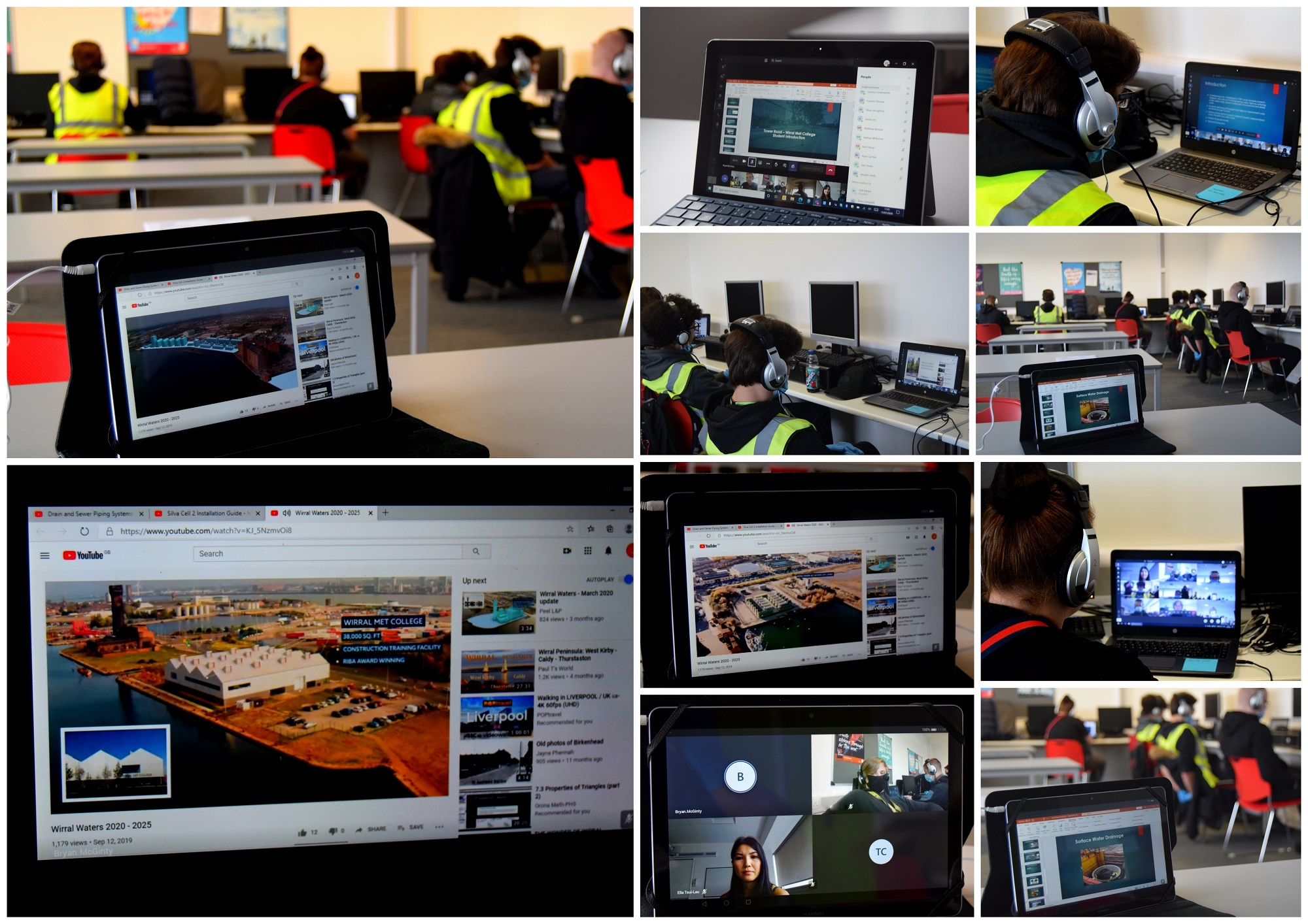 Construction students gain valuable industry insights with Cambrianway/Peel L&P virtual session
