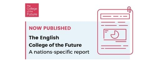 Now published: The English College of the Future Report