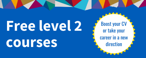 Free level 2 courses for adults aged 19+