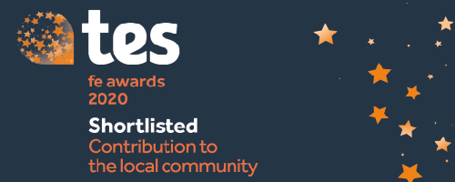 Wirral Met College shortlisted at prestigious Tes FE Awards for Contribution to Local Community