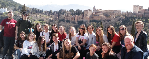 Wirral Met Travel & Tourism students are taking part in Eramus+ work experience in Granada, Spain
