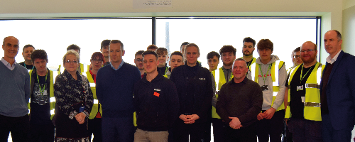 le construction experience at Wirral Waters project