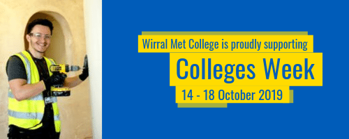 Wirral Met College is supporting Love Our Colleges Week