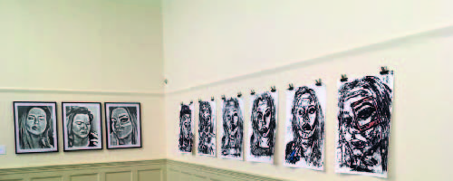 nts showcase work at Williamson Art Gallery