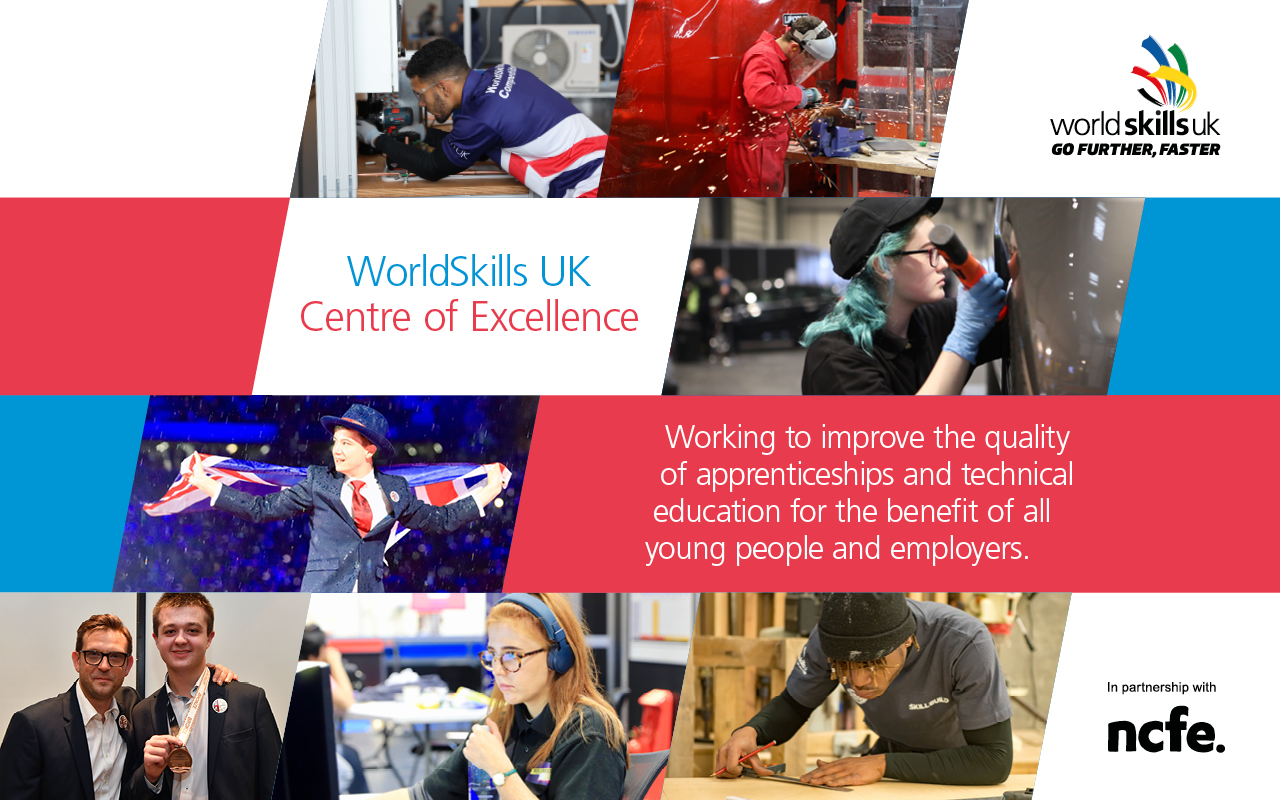nnounced as one of the first colleges to be part of the WorldSkills UK Centre of Excellence