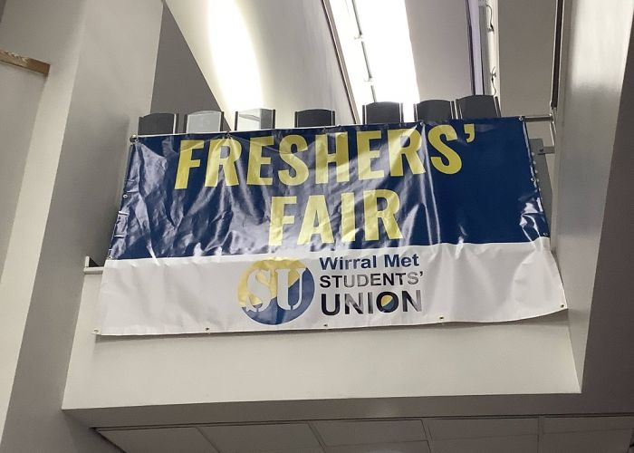 The Students' Union Freshers' Fair banner