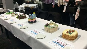 Junior Bake-off competition cakes